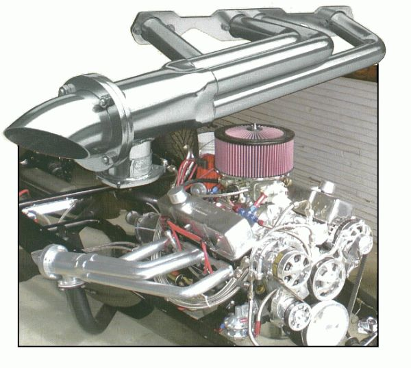 Sanderson Jayster Lakes Style Header Set Big Block Chevy
