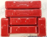 Made4You 50-05613 Butn-Snap Spark Plug Wire Separators, 7-8mm, Red