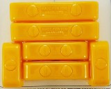 Made4You 50-05615 Butn-Snap Spark Plug Wire Separators, 7-8mm, Yellow