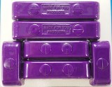 Made4You 50-05620 Butn-Snap Spark Plug Wire Separators, 7-8mm, Purple