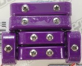 Made4You 50-25620 Universal Spark Plug Wire Separators, 7-8mm, Purple