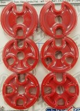 Made4You 55-19013 Spin-n-Snap Universal Plug Wire Separators, 7-8mm, Red