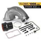 Banks Power 42790 Monster-Ram Intake Elbow Kit W/Fuel Line and Hump Hose 4 Inch Natural 07.5-18 Dodge/Ram 2500/3500 6.7L