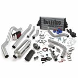 Banks Power 46356-B PowerPack Bundle Complete Power System W/OttoMind Engine Calibration Module Black Tail Pipe 94-97 Ford 7.3L CCLB Automatic Transmission