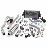 Banks Power 46356 PowerPack Bundle Complete Power System W/OttoMind Engine Calibration Module Chrome Tail Pipe 94-97 Ford 7.3L CCLB Automatic Transmission