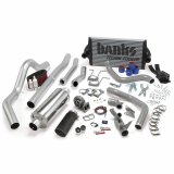 Banks Power 46361-B PowerPack Bundle Complete Power System W/OttoMind Engine Calibration Module Black Tail Pipe 94-97 Ford 7.3L CCLB Manual Transmission