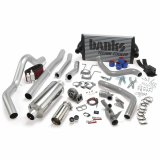 Banks Power 46361 PowerPack Bundle Complete Power System W/OttoMind Engine Calibration Module Chrome Tail Pipe 94-97 Ford 7.3L CCLB Manual Transmission