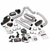 Banks Power 46477-B Stinger Bundle Power System W/Single Exit Exhaust Black Tip 5 Inch Screen 05-07 Ford 6.0L CCSB