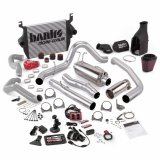 Banks Power 46633 Big Hoss Bundle Complete Power System W/Single Exhaust Chrome Tip 5 Inch Screen 05-07 Ford 6.0L ECSB