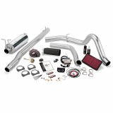 Banks Power 47523-B Stinger Plus Bundle Power System W/Single Exit Exhaust Black Tip 99 Ford 7.3L F250/F350 Manual Transmission