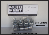 Motofeet Steel Caster Set (4)