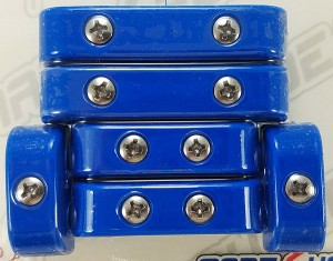 Made4You 50-15612 Universal Spark Plug Wire Separators, 7-8mm, Blue