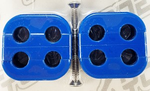 Made4You 50-45612 Box Cluster 4-Wire Universal Separators, 7-8mm, Blue