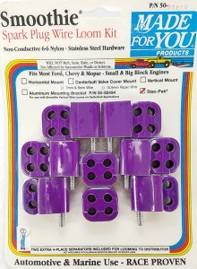 Made4You Stac-Pak Spark Plug Wire Separator Kit, 7-8mm, Purple