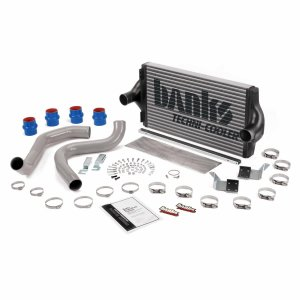 Banks Power 25973 Intercooler System W/Boost Tubes Large Aluminum 99.5-03 Ford 7.3L