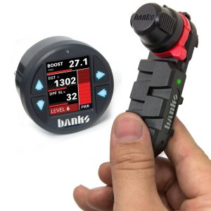 Banks Power 66592 Derringer Tuner with ActiveSafety and iDash 1 8 2017-19  Chevy/GMC 2500 6 6L L5P